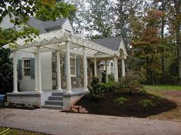 curb appeal pergola front porch addition curb appeal decks front
