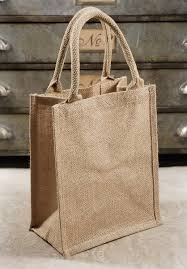 burlap gift bags 6 burlap tote favor bags with handles 11 x 9 jute burlap and