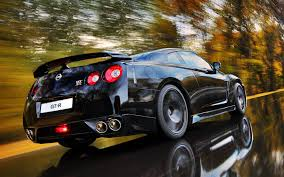 black nissan gtr wallpaper on road with nissan gtr black galleryautomo