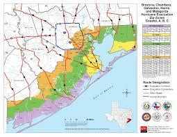 County Map Of Texas Hurricane Preparedness Links Brazoria County Tx