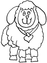 awesome lovely sheep coloring pages kids coloring