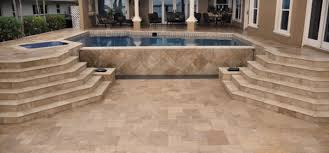 Travertine Patio Eagle Concrete Corp Home
