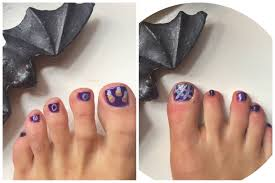 25 best halloween toe nail art designs