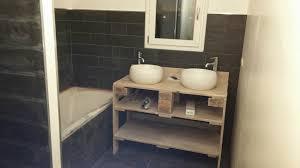 meuble de salle de bain avec meuble de cuisine emejing fabriquer meuble salle de bain bois contemporary design