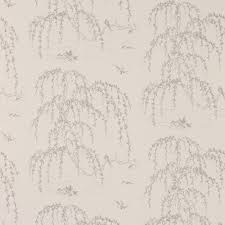 Bedroom Wallpaper Texture Weeping Willow Also Loving The Pale Grey Colours And Beautiful