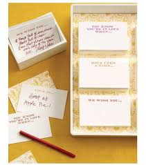 wedding well wishes cards be our guest mendocino weddings events