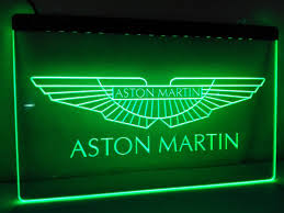 aston martin led sign u2013 vintagily