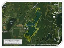 Lake Maps Mn Lake Maps Clearwater Lake Associationdeerwood Mn