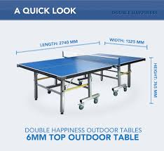 What Are The Dimensions Of A Ping Pong Table by New Outdoor Table Tennis Ping Pong Table Tournament Size
