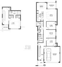 narrow house plans with garage narrow house plans ranch australia carsontheauctions