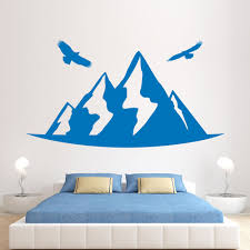 Removable Wall Decals Nursery by Online Get Cheap Mountain Homes Designs Aliexpress Com Alibaba