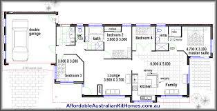 4 bdrm house plans capitangeneral