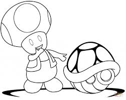 toad mario coloring pages aecost net aecost net