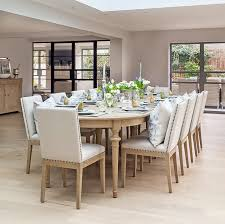 Solid Oak Dining Tables And Chairs Extending Oak Table And Chairs Homebase Dining Chairs 10 Seat