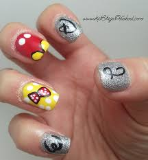 disney world inspired nail art with kat from kat stays polished