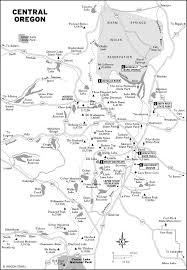 Oregon Lakes Map by A Three Hour Tour Of The Cascade Lakes Highway Moon Travel Guides