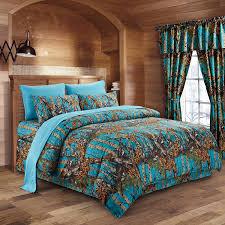 Blue Camo Bed Set The Woods Sea Camouflage 8pc Premium