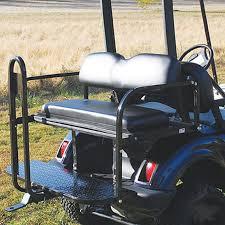 yamaha golf cart rear seat kit golf cart rear seat kit flip