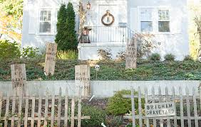 halloween graveyard decorations pictures front yard decoration