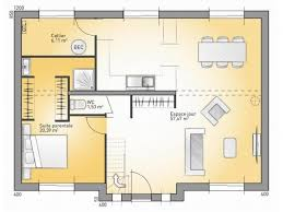 plan maison 4 chambres suite parentale plans de maison rdc du modèle city maison moderne à étage de