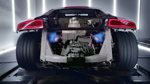 Audi R8 Limo - audi shows off the r8 v10 plus video