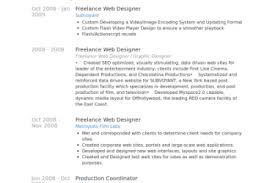 Freelance Web Designer Resume Sample by Freelance Graphic Designer Resume Samples Visualcv Resume Samples
