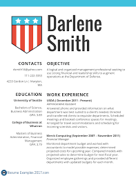 Resume Samples 2017 For Administrative Assistant by Quality Federal Resume Examples Resume Examples 2017