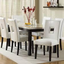chelsea lane archibald 7 piece white dining set 60 in hayneedle