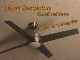 installing remote control ceiling fan how to install ceiling fan with remote control youtube