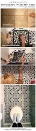 stencil pinterest worthy tile for under 50 stencil stories