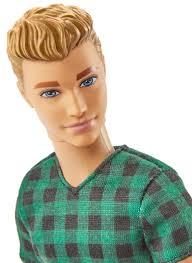 amazon barbie fashionistas ken doll checked style toys u0026 games