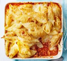 cuisine pasta turkey bolognese pasta bake recipe food