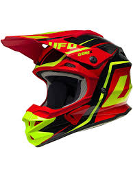 motocross helmets australia ufo black red yellow fluo 2017 interceptor 2 mx helmet ufo