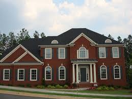 new construction brick home new brick home designs brick homes