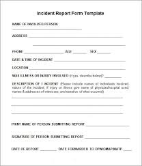 patient incident report form template the 25 best incident report form ideas on incident