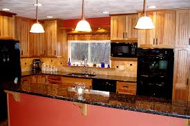 hickory cabinets with granite countertops kitchen cabinets with granite counter top