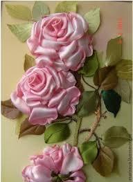 silk ribbon roses silk ribbon roses pinteres