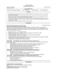 sample resume for medical representative download sample resume