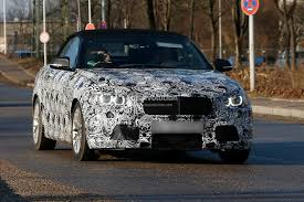 f23 bmw 2 series convertible spied bmwcoop