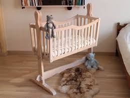 adorable swinging crib for your baby wearefound home design