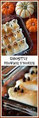 scare up some ghostly brownie s u0027mores for a halloween treat watch
