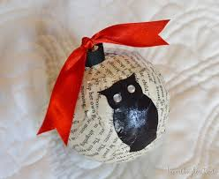 handmade owl themed wrapping and decor