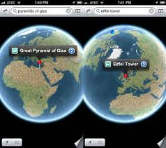 maps for globe see the whole earth in the ios 6 maps app ios tips cult of mac