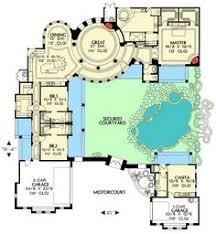 Hacienda Floor Plans Spanish House Plans From The House Designers My Spanish Dream