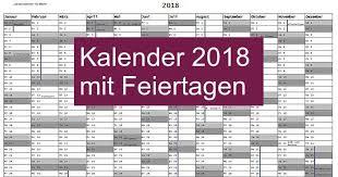 Kalender 2018 Hessen Ausdrucken Kalender 2018 Mit Feiertagen Freeware De