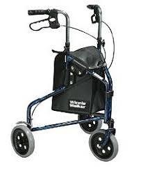 senior walkers with wheels three wheel walker handicapped equipment