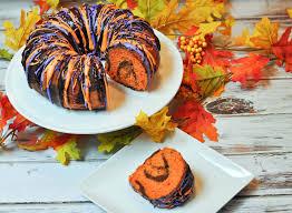 Cake Halloween by Halloween Bundt Cake Recipe