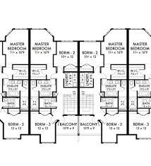 Multi Family House Plans Triplex Multi Family Home Plans Triplex House Plans Design Basics Recent