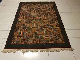 tappeti outlet tappeti outlet tappeto moderno lineare e modello cocco bordato