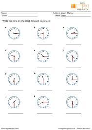 primaryleap co uk time worksheet
